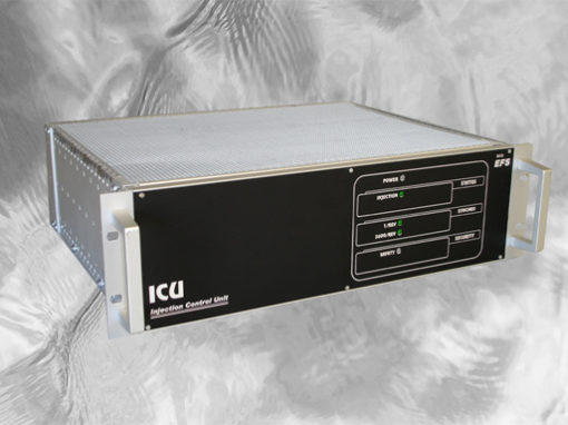 Control and synchronization module for INJETVISION system